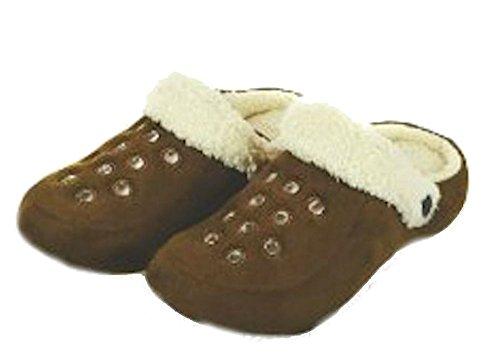 Brandwell - Zapatillas de estar por casa para hombre Marrón - canela