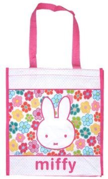 That trading Miffy (miffy) Shopper Tote 8060 [ Bruna packaging Netherlands Character Goods rabbit ]