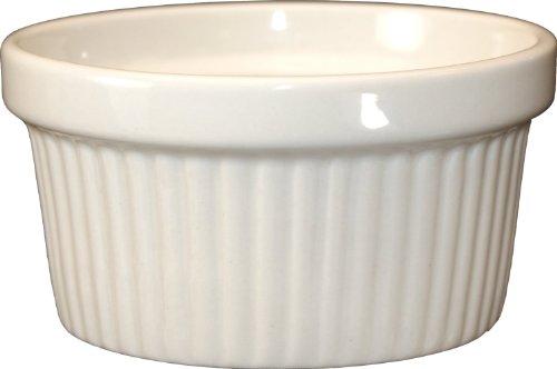 ITI-RAMF-4-AW Fluted Ramekin, 4-Ounce, 36-Piece, American White by ITI