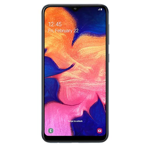 Samsung Galaxy A10 32GB A105G/DS LTE Unlocked GSM 6.2'' HD+ Smartphone - International Version, No Warranty (Black) by Samsung