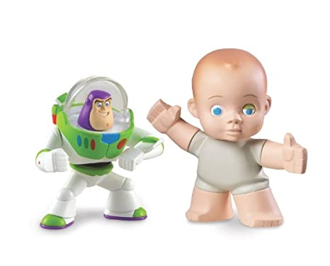 Image Unavailable. Image not available for. Color  Disney   Pixar Toy Story  3 Buddy Pack - Communicator Buzz Light Year and Big Baby 143752af553