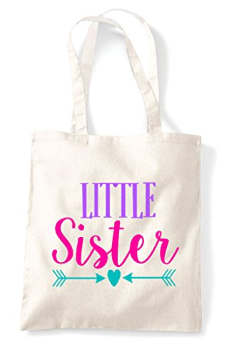 Tote Sister Natural Shopper Siblings Bag Little Hearts Arrow AaxIqzzwP