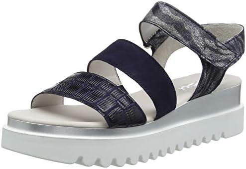 61-550-36 Gabor Sling Cotton Metallik jeans blau