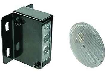 Velleman PEM10D - Sensor fotoeléctrico (12-240 V), color negro y plateado: Amazon.es: Electrónica