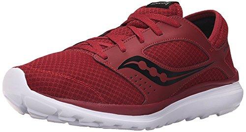 Saucony Mens Kineta Relay Running Shoe, Carmes?/Negro, 46.5 D(M) EU/11 D(M) UK