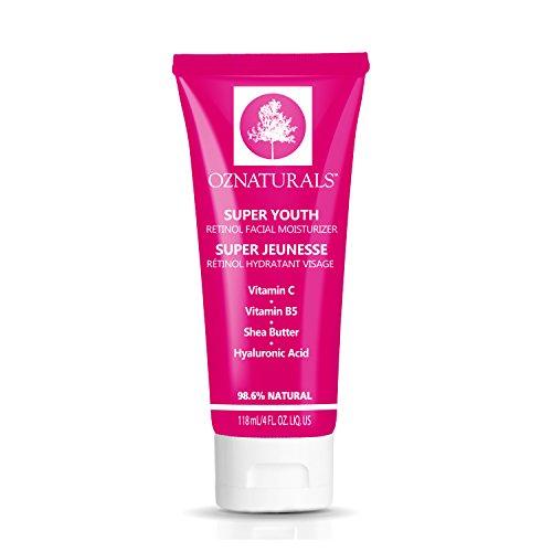 OZNaturals Retinol Anti-Wrinkle Moisturizer Night Cream, 4 oz Tube