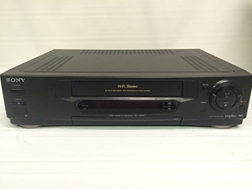 Sony SLV-740HF Video Cassette Recorder P - S-vhs Vcr Shopping Results