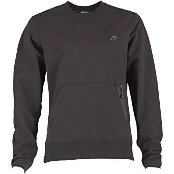 Nike tech fleece sweat-shirt-homme-noir anthracite  Amazon.fr ... 1bb6df3ab624