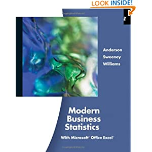Modern Business Statistics with Microsoft Excel (with Printed Access Card)