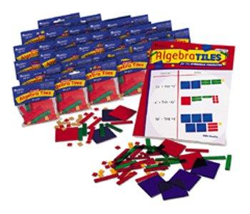 ALGEBRA TILES CLASSROOM 30-SET - Algebra Tiles Student Set