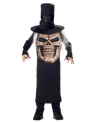 Evil Mad Hatter Costumes (Palmer Big Boys' Halloween Book Week Costume Mad Hatter Evil Skull Age Large Multi-Colored)