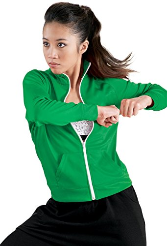 (Urban Groove Track Jacket Zip Front Kelly Adult XX-Large)