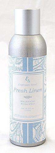 JacMax Industries Expressive Scent Fragrance Room Spray, 6 oz, Fresh Linen (Spray Fragrance Room Ap)