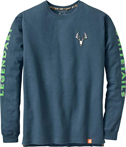 Legendary Whitetails Men's Non-Typical Series Long Sleeve T-Shirt Slate X-Large