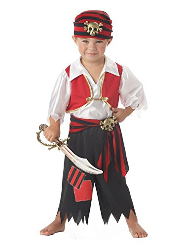 Ahoy Matey Pirate Toddler Costume Toddler (3-4)