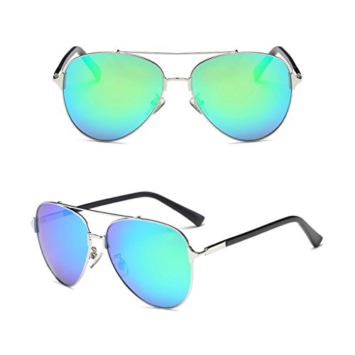 Polarized Light Gafas Ai Anti Resistente de UV a vértigo C4 Mirror Popular Color Driver Fashion lele C3 Sol 1IwfUw