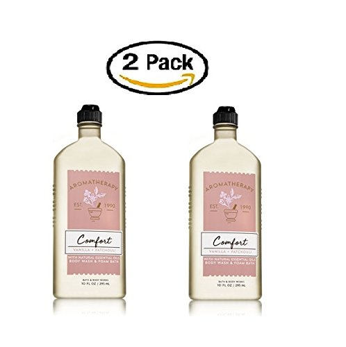 Bath and Body Works Aromatherapy Comfort Shower Gel 2 Pack ( Vanilla and Patchouli ()