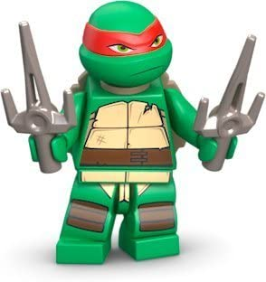 Lego Teenage Mutant Ninja Turtles Raphael Minifigure