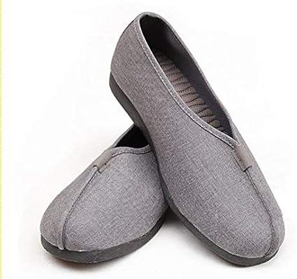 Zapatillas de Kung Fu, para monje Shaolin de artes marciales, unisex, de la marca ZooBoo