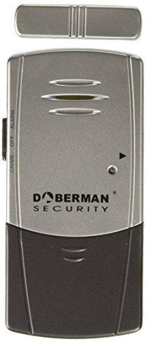 Doberman SE-0101, Door & Window Defender.  Silver/Black by Doberman Security