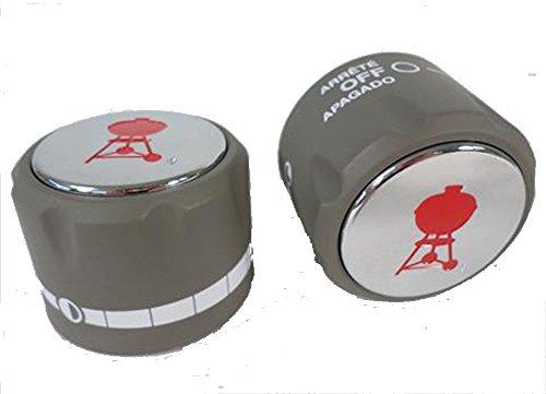 Weber Summit Series Gas Grill Main Burner Gas Control 2 Pack Knob 91537