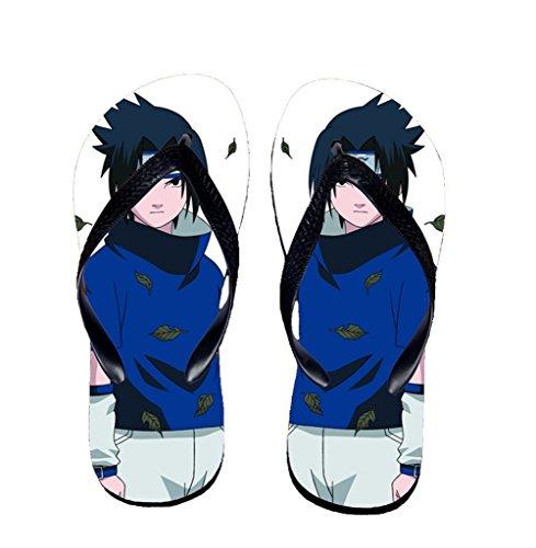 Bromeo Naruto Anime Unisex Flip Flops Zehentrenner Flip Pantoffeln 306