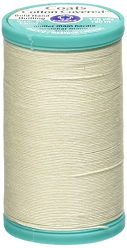 Clark Coats & Quilting Machine (Coats Bold Hand Quilting Thread, 175-Yard, Natural)