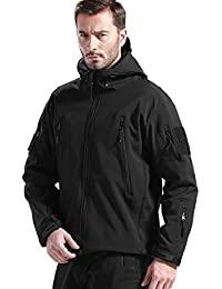7a0bcdf0297b Men s Jackets Outdoor Waterproof Softshell Hooded Tactical Jacket