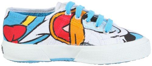 Superga 2750- DISNEY PAPERICOTJ S002EE0 - Zapatillas de deporte de lona para niños Blanco
