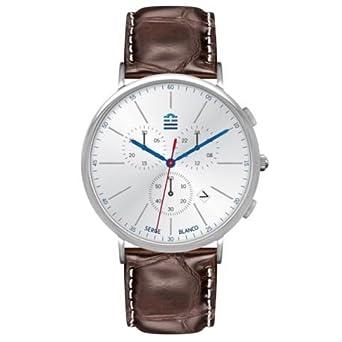 Zeigt Herren Serge Blanco Chronograph Braun – sb5908-2
