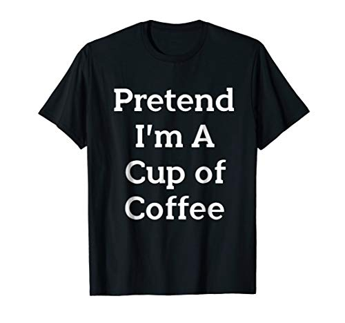 Pretend Cup of Coffee Costume Funny Halloween Party -