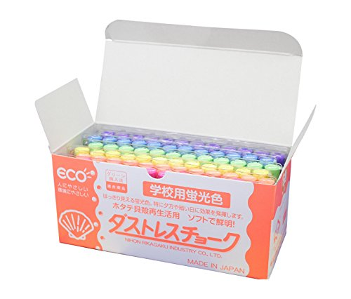 On 6 colors DCK-72-6C 72 units in Japan physics and chemistry Dasutoresu fluorescent chalk (japan import)