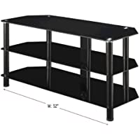 Innovex Concord TV Stand, 52-Inch, Black