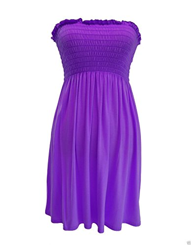 Robe Femme And Sons Silva maxi Robe Violet twXS7qA