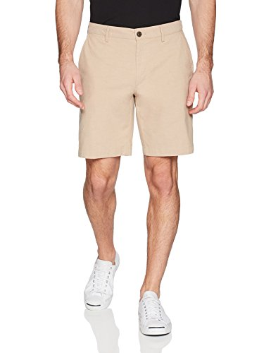 "Amazon Brand - Goodthreads Men's Slim-Fit 9"" Inseam Lightweight Comfort Stretch Oxford Shorts"