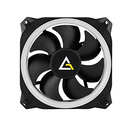 Antec Prizm 120 RGB Case Fan Radiator with Asus Aura Sync & MSI Mystic Light Sync Graphics Cards Fans at amazon