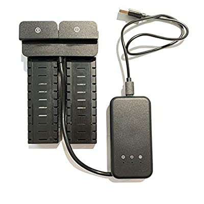Holy Stone 2 Spare Batteries for HS700D GPS Quadcopter Drone with Charging Cable Included, Black