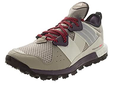 f744e5e699069 adidas outdoor Response Trail Boost Trail Running Shoe - Women s Light  Brown White Solar