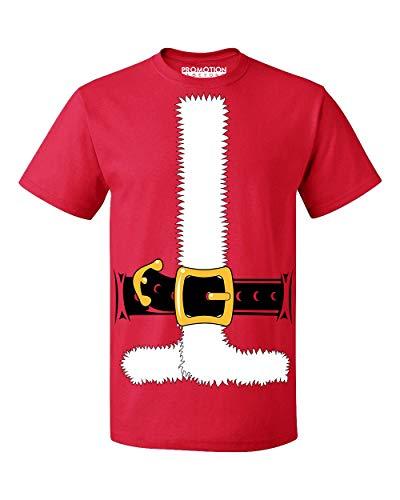 (Christmas Santa Costume Jacket Tuxedo Men's T-Shirt, XL,)