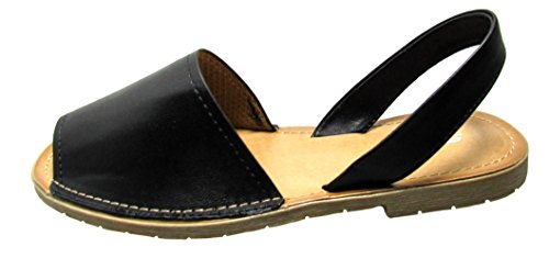 8 M Womens D Soda S One Flats Sandals US BlackPu UgYWZq
