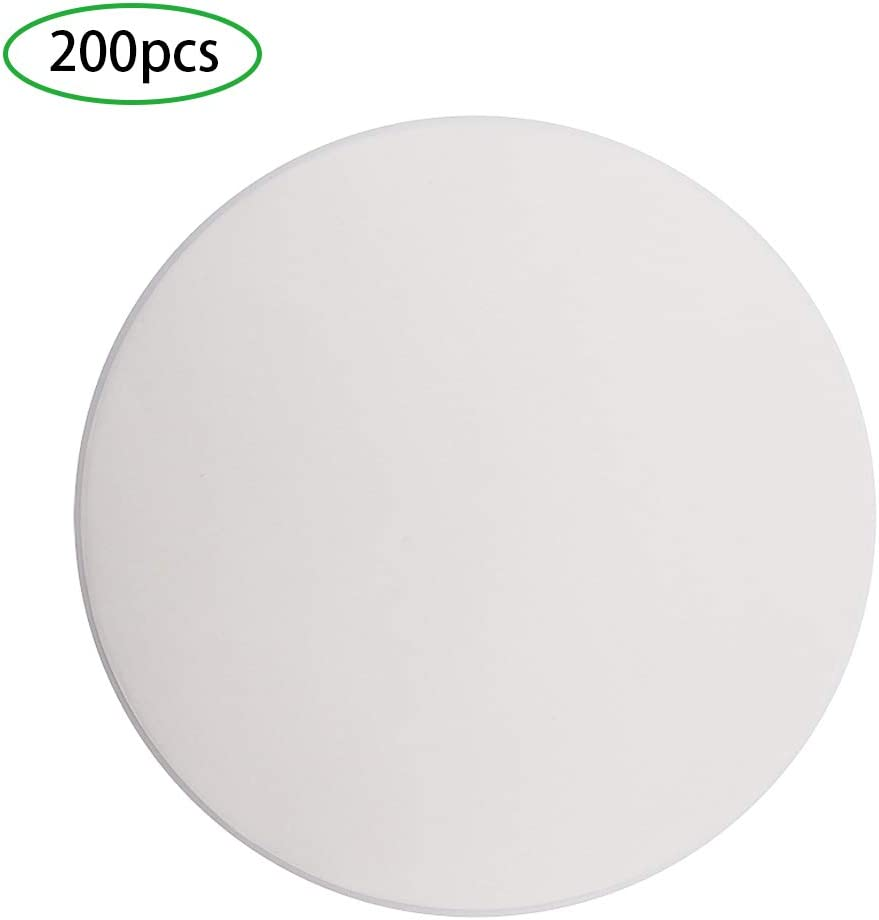 9 Inch Round Parchment Paper, Set of 200, Non Stick Baking Parchment Circles/Round Baking Paper for Springform Pan, Toaster Oven, Tortilla Press and More