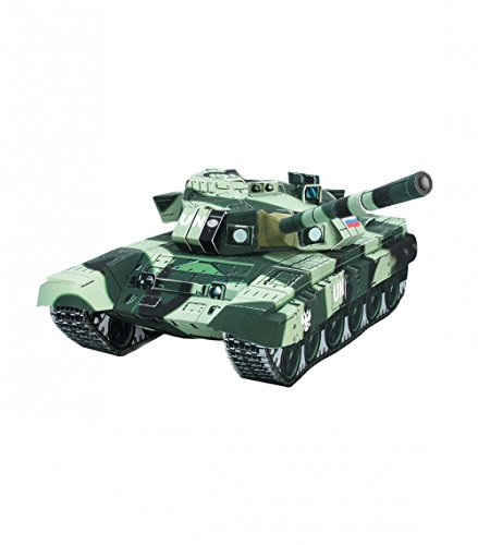 Clever Paper Cardboard model kit Tank T-90 UN Scale 1/35 (022)