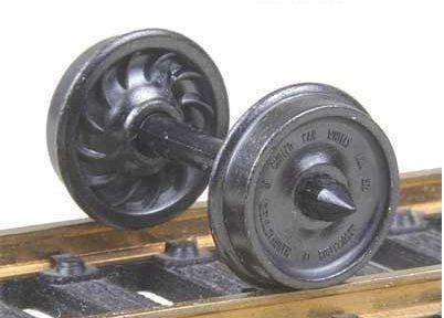 - HO Metal Wheels, 36