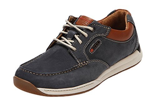 Javery Time Wide Fit - Navy Nubuck