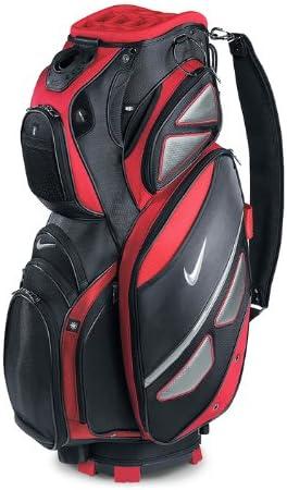 Completamente seco sustracción Una vez más  Amazon.com : Nike New 2011 Tour Cart II Golf Bag (Red/Silver/Black) :  Sports & Outdoors