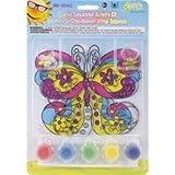 Bulk Buy: The New Image Group Sparkle Suncatcher Kits Butterfly 654-02 (3-Pack)