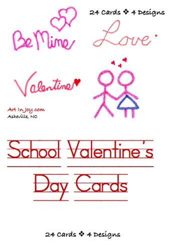 Amazon Com School Valentines Day Cards Health Personal Care