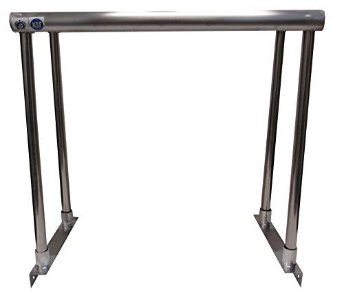 Johnson Rose 81273 Over Shelf for Work Table, Single Tier, 12