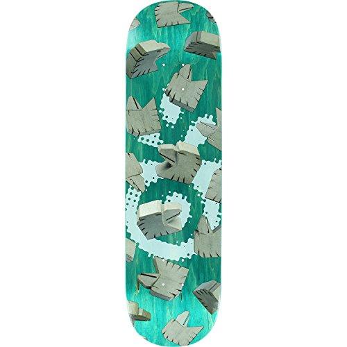 広がり農学コテージHabitat Eagleトーテム柄スケートボードデッキ- 8.25 deck- Assembled as complete skateboard