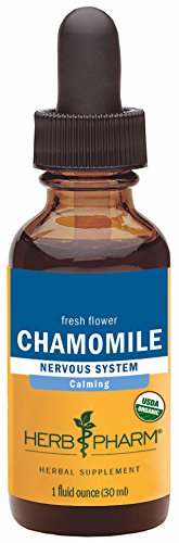 Organic Chamomile Extract for Calming Nervous System Support - 1 Ounce (Chamomile Compound)